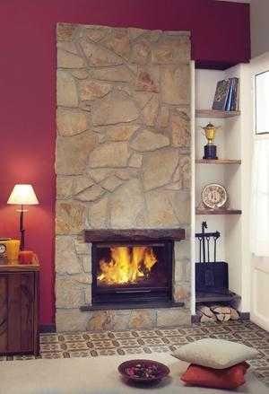 Paredes de piedra en interiores buscar con google - Paredes decoradas con piedra ...