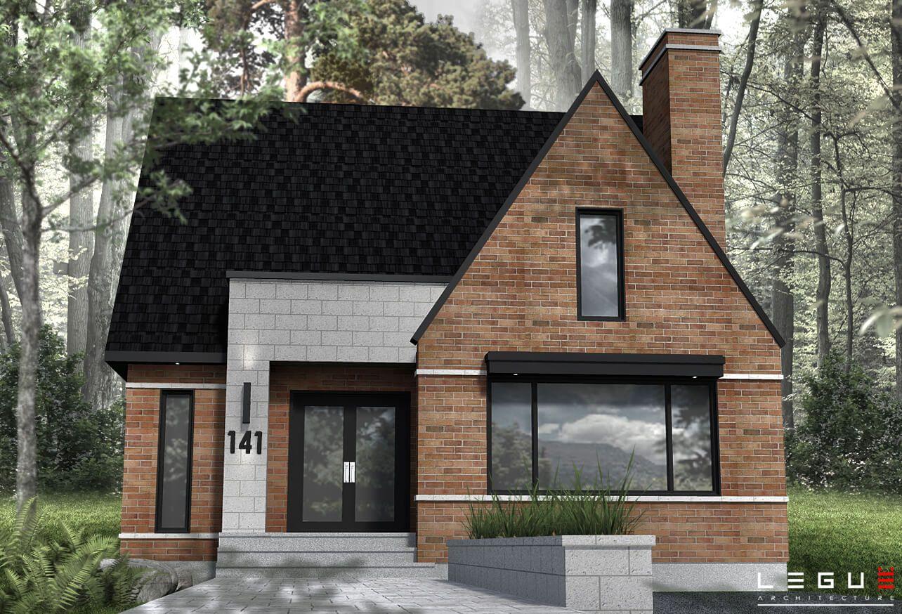 Plan de maison moderne 141 en 2019 plans de maison maison moderne plan maison et plan - Voir ma maison en direct ...
