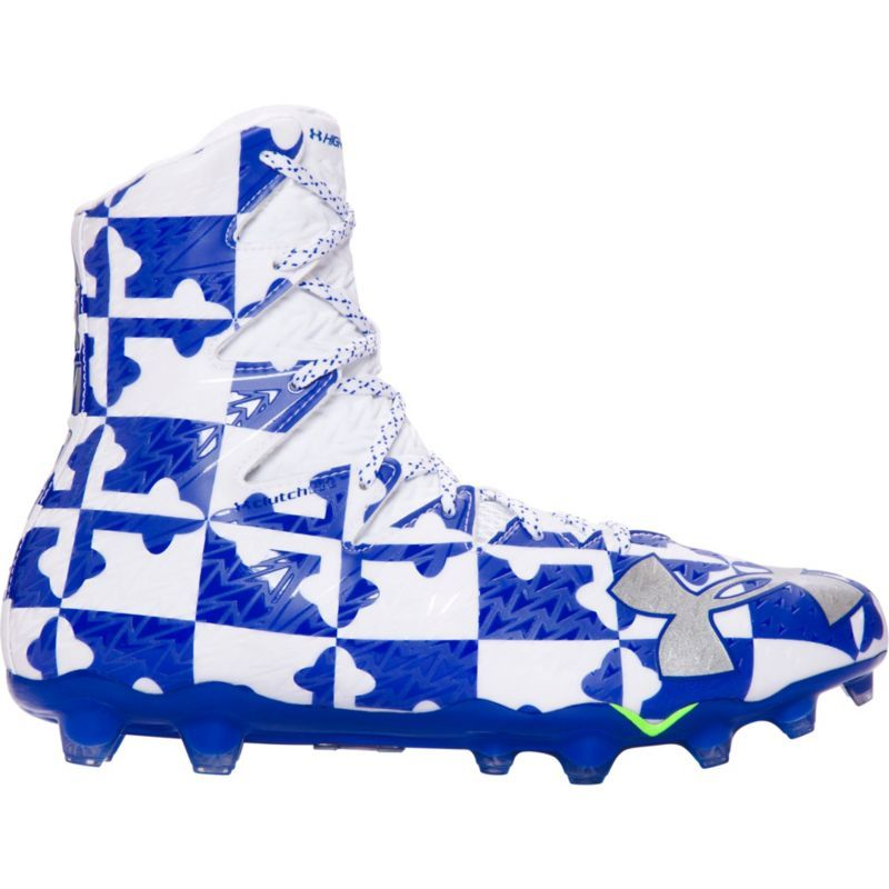 promo code 83c30 be1be Under Armour Mens Highlight MC Lacrosse Cleats, Size 16, Blu