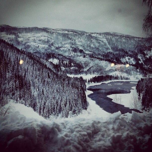 River Namsen, in Grong - Instagram photo by @olebernt #travel #norway #grong