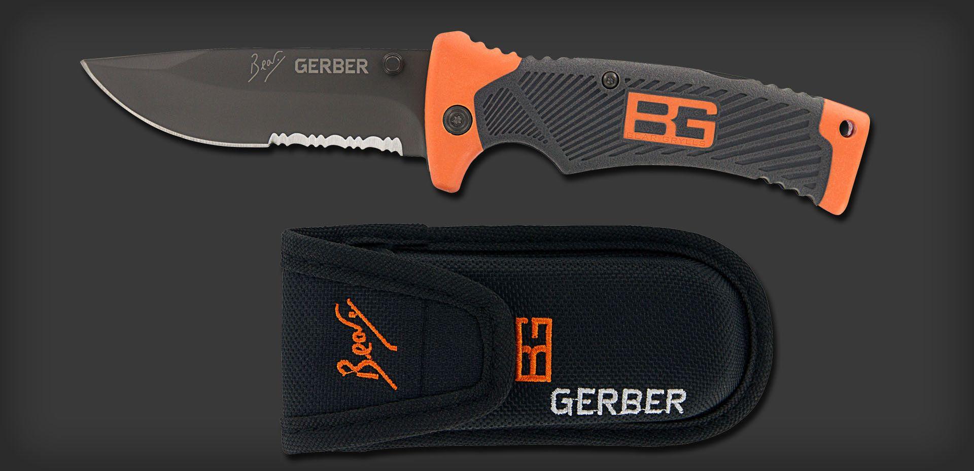 Image result for bear grylls gerber survival folding knives
