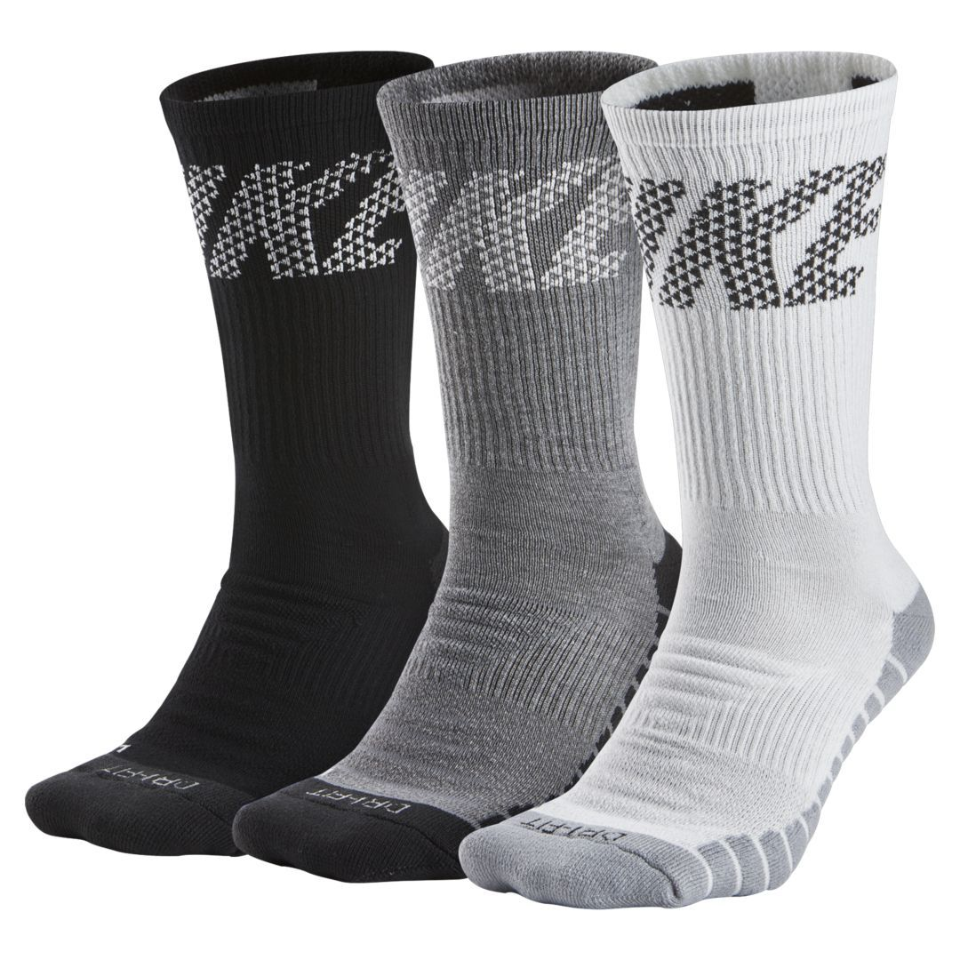 New Nike Elite Dri-Fit Cushioned Basketball Crew Socks /</< Select Color /& Size />/>