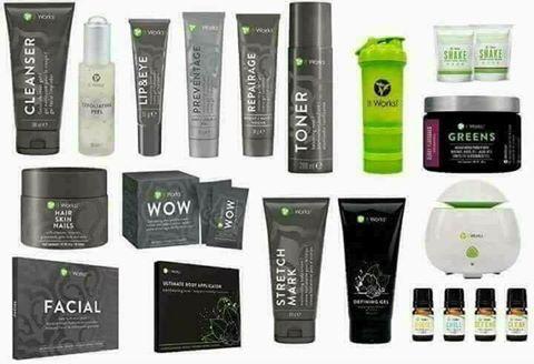 Notre gamme de produits It Works Bien-être pour le corps
