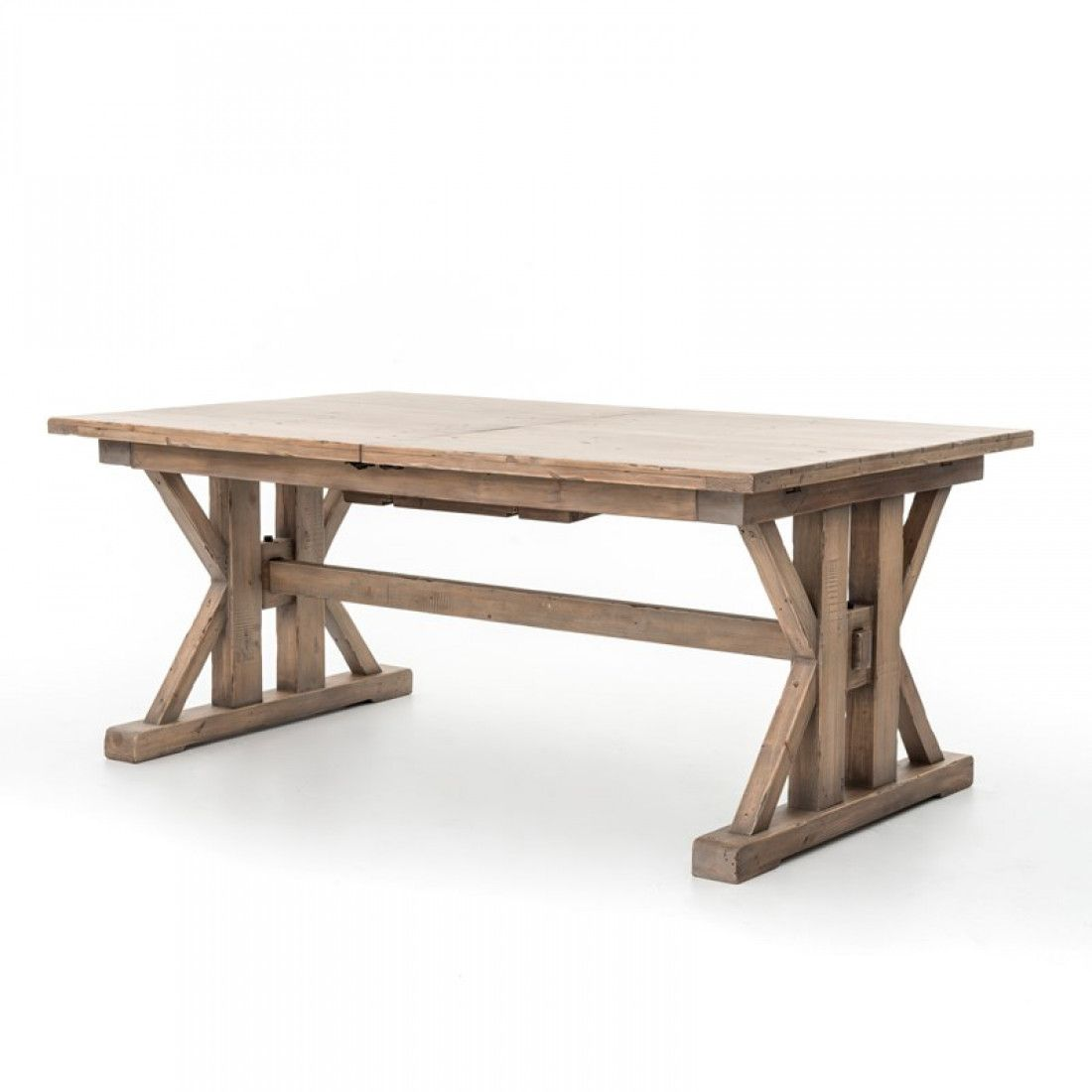 Tuscan spring ext dining table