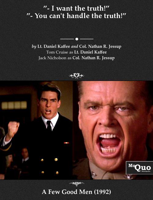 A Few Good Men Quotes Krampus | A Few Good Men | Movies, Good movies, Movie Quotes A Few Good Men Quotes