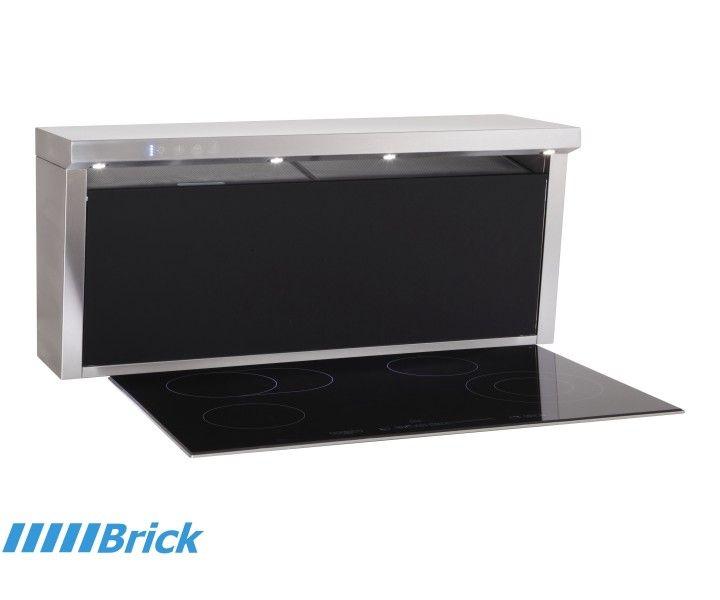 Perfekt Tisch Dunstabzugshaube Brick Zum Einbau In Einer Arbeitsplatte   Zur  Montage Hinter Dem Kochfeld Mit Absaugung