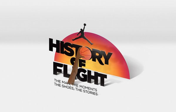 Jordan's History of Flight by Eli Horn, via Behance