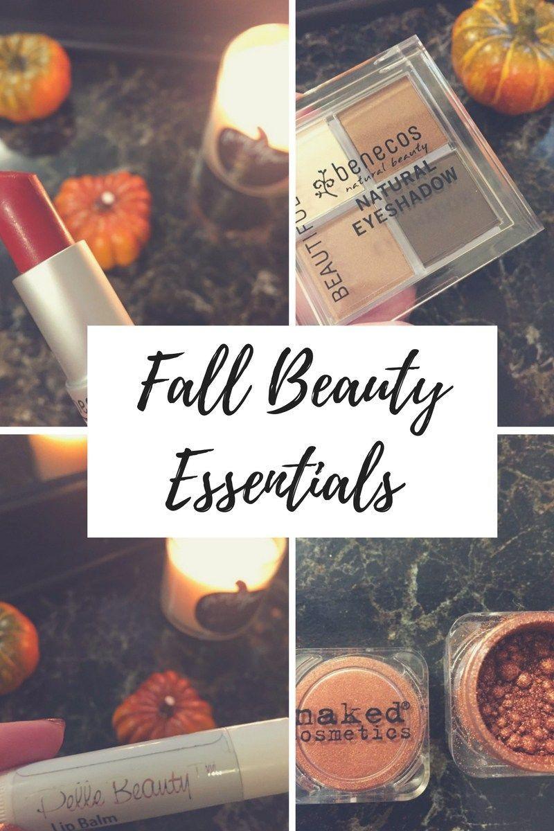 Fall Beauty Essentials 2017 #beautyessentials