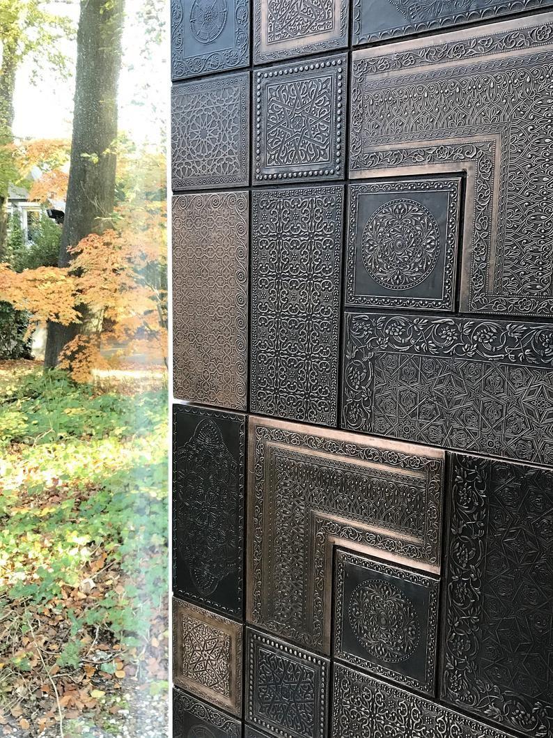 Pin By Dj On Domek In 2020 Wall Paneling Copper Wall Art Metal Wall Panel