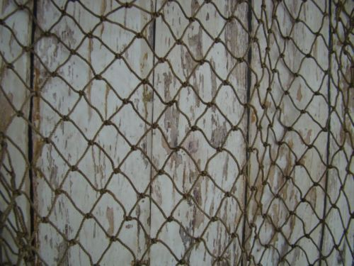 Old Vintage Fishing Net ~5/'x10/' ~Authentic Netting ~ Crab Pond Lobster Trap