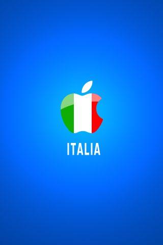 Apple Italia By Tancro Deviantart Com On Deviantart Apple Wallpaper Iphone Italian Colors Apple Wallpaper