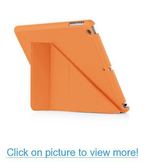 Zeimax Ipad Air Standing Leather Origami Case Orange Ipad Air
