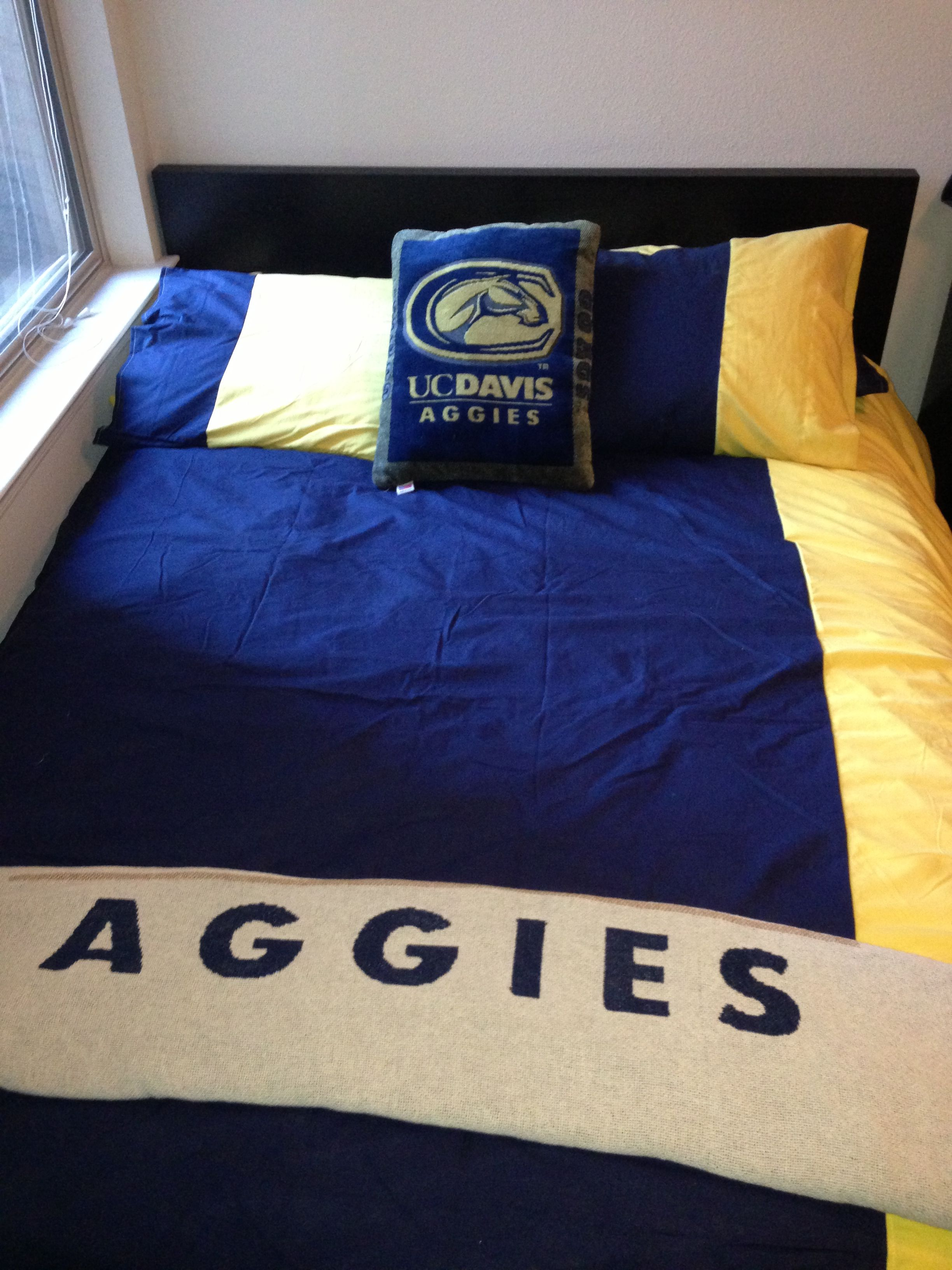 Aggie Dorm Room Hand Made Duvet Cover