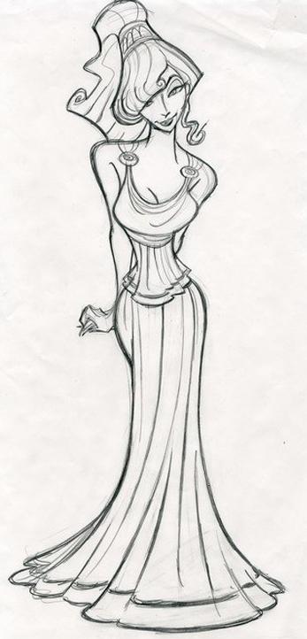 Meg: Hercules | Disney art | Pinterest | Dibujo, Disney y Dibujos de ...