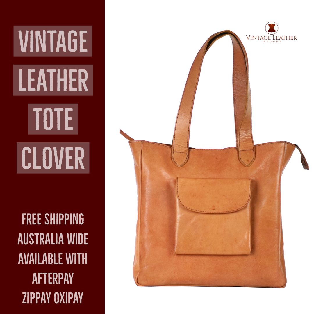 Perfect Leather Tote Bag For Work Study Commute Free Shipping For Australia Available With Afterpay Zippay Oxi Leather Vintage Leather Tote Bag