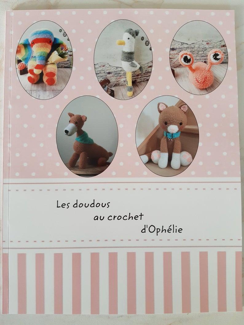 Livre Les Doudous Au Crochet Dophélie Format Papier