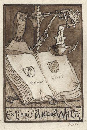 Ex Libris André Waltz