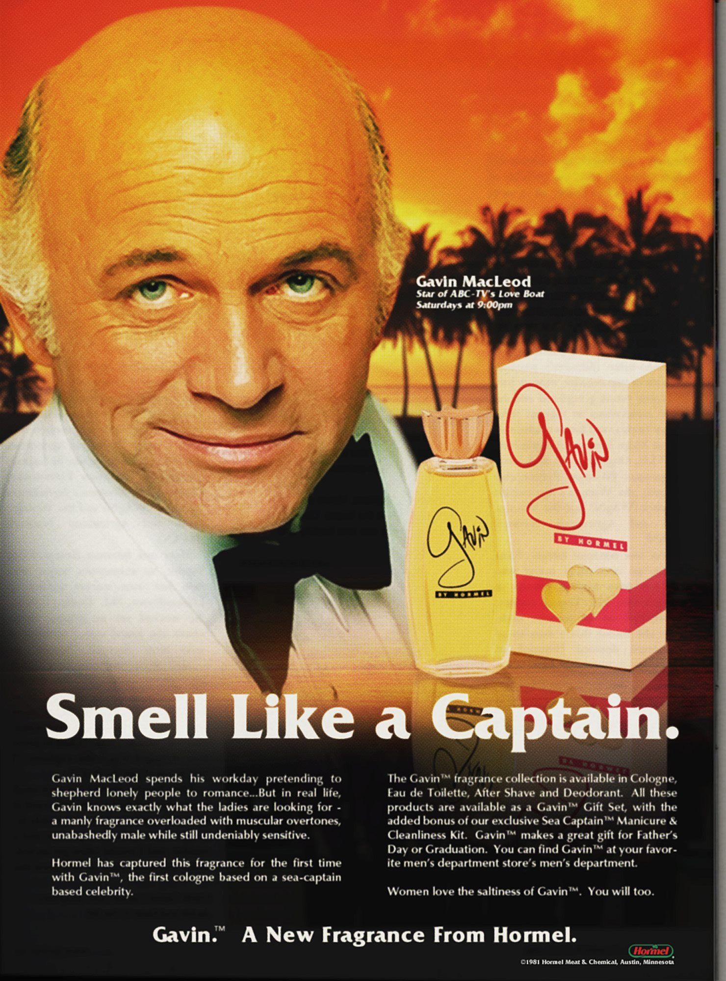 Cologne That Makes You Smell Like Gavin Macleod