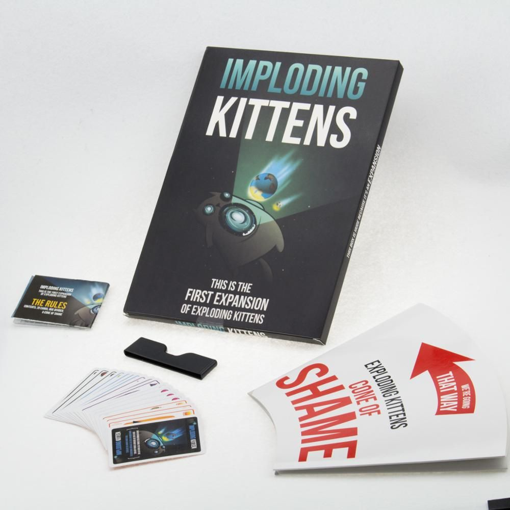 Imploding Kittens The Expansion Of Exploding Kittens Party Card