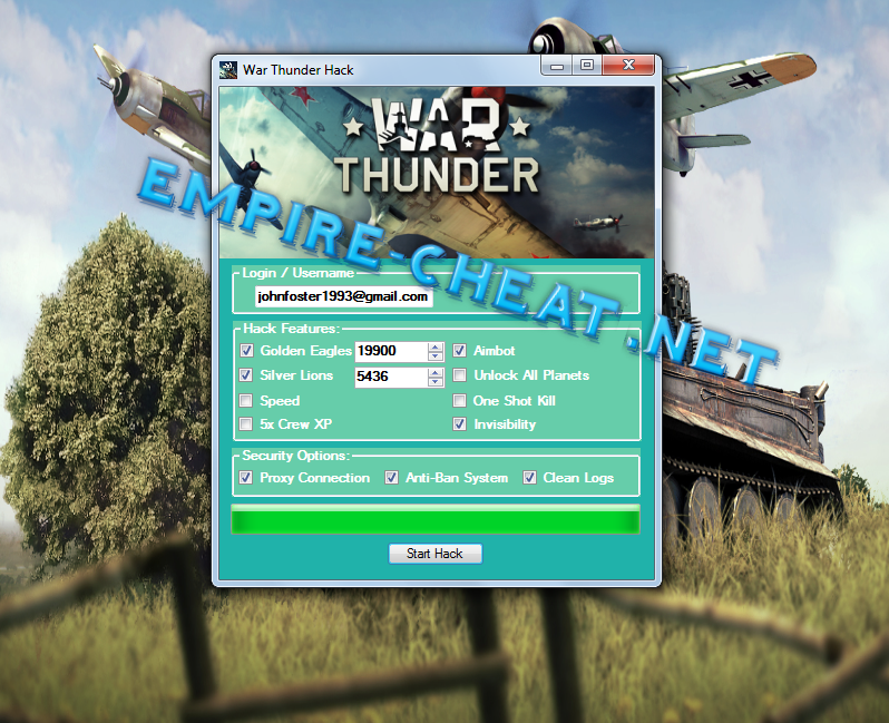 war thunder hack no download