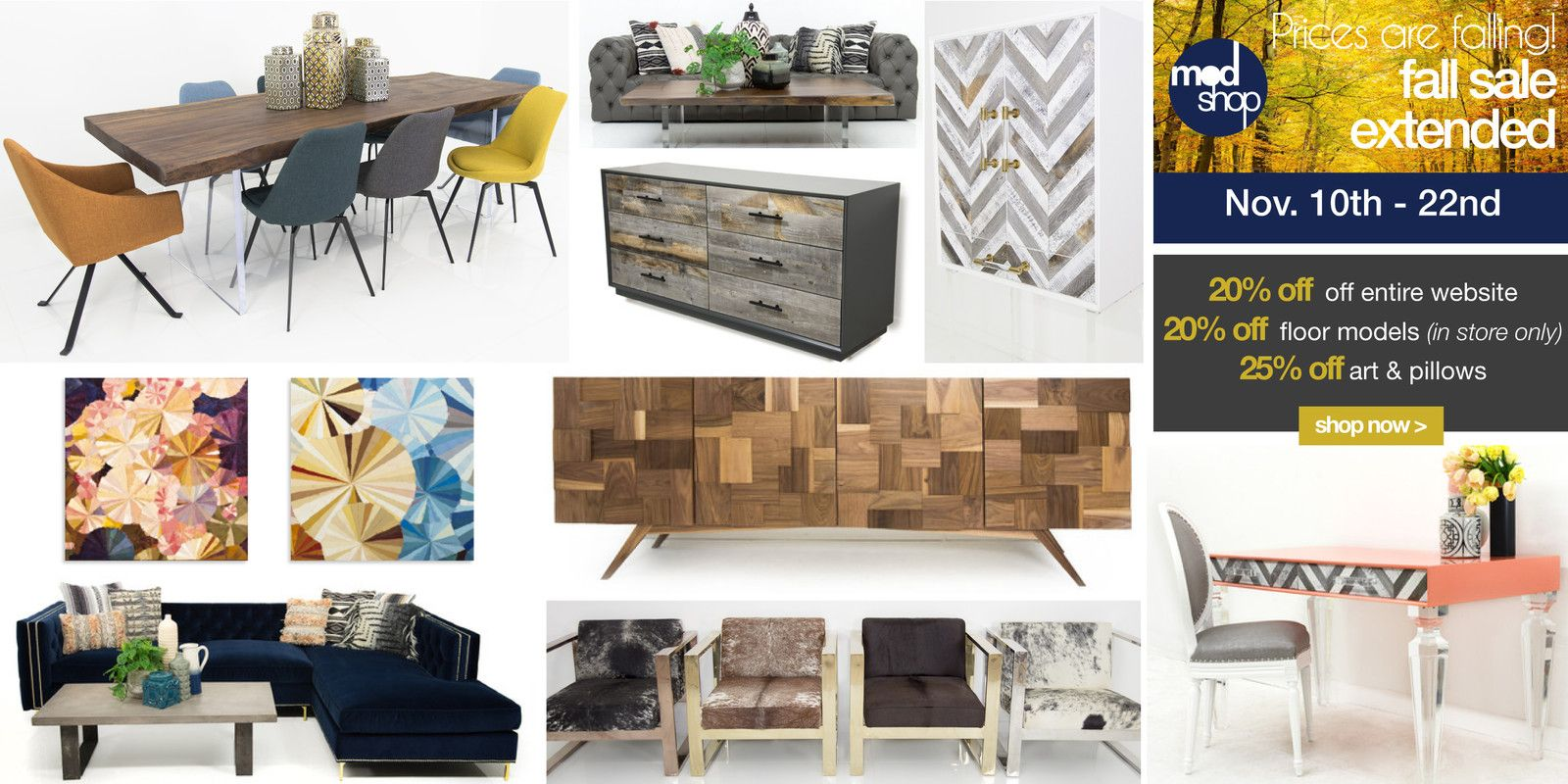 Modshop just opened in design district dallas a modern furniture store showcasing sofas sectionals dining tables chairs beds office furniture