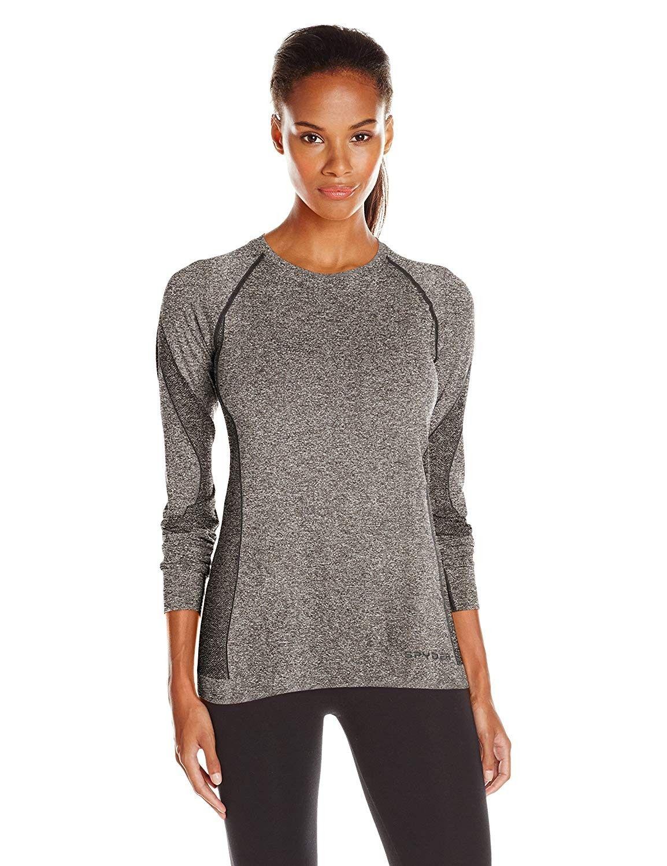 Women's Runner Long Sleeve Top - Black - C417Z35OL29 - Sports & Fitness Clothing, Women, Base Layers...
