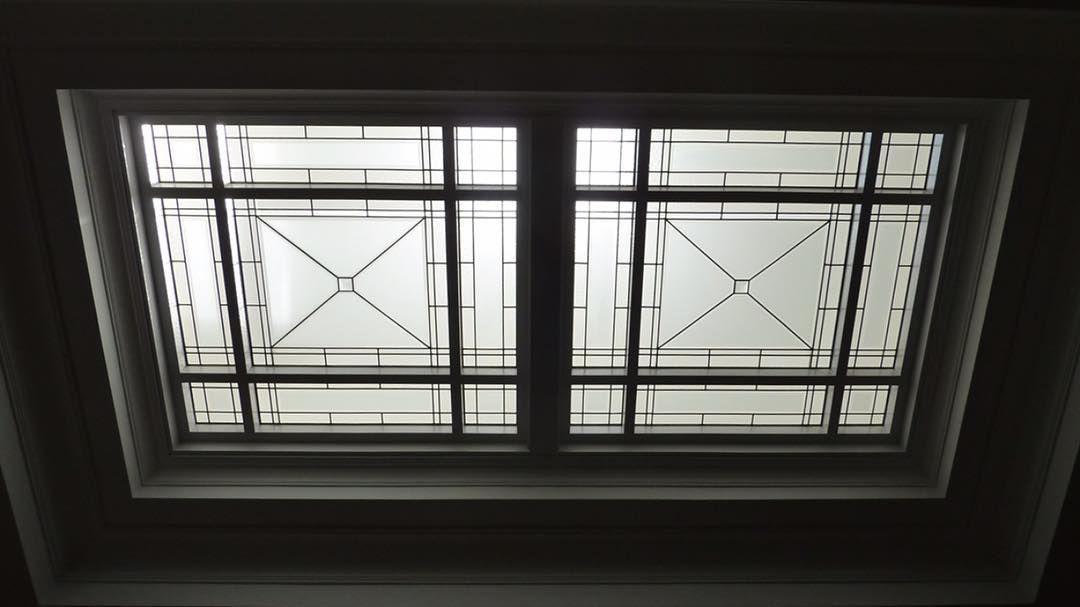 Understated Elegance  #Skylight #Glass #ArtGlass #SkylightLens #Ceilings #Lighting #CeilingDesign #Luxury #Luxe #Lux #Bespoke #Lifestyle #Transitional #InteriorDesign  #CustomCrafted