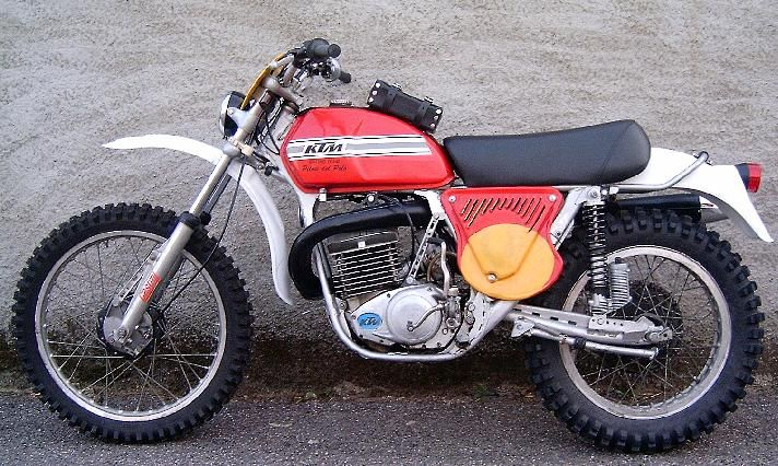 Ktm 250 Gs 1975 Enduro Motorcycle Vintage Bikes Ktm Motorcycles