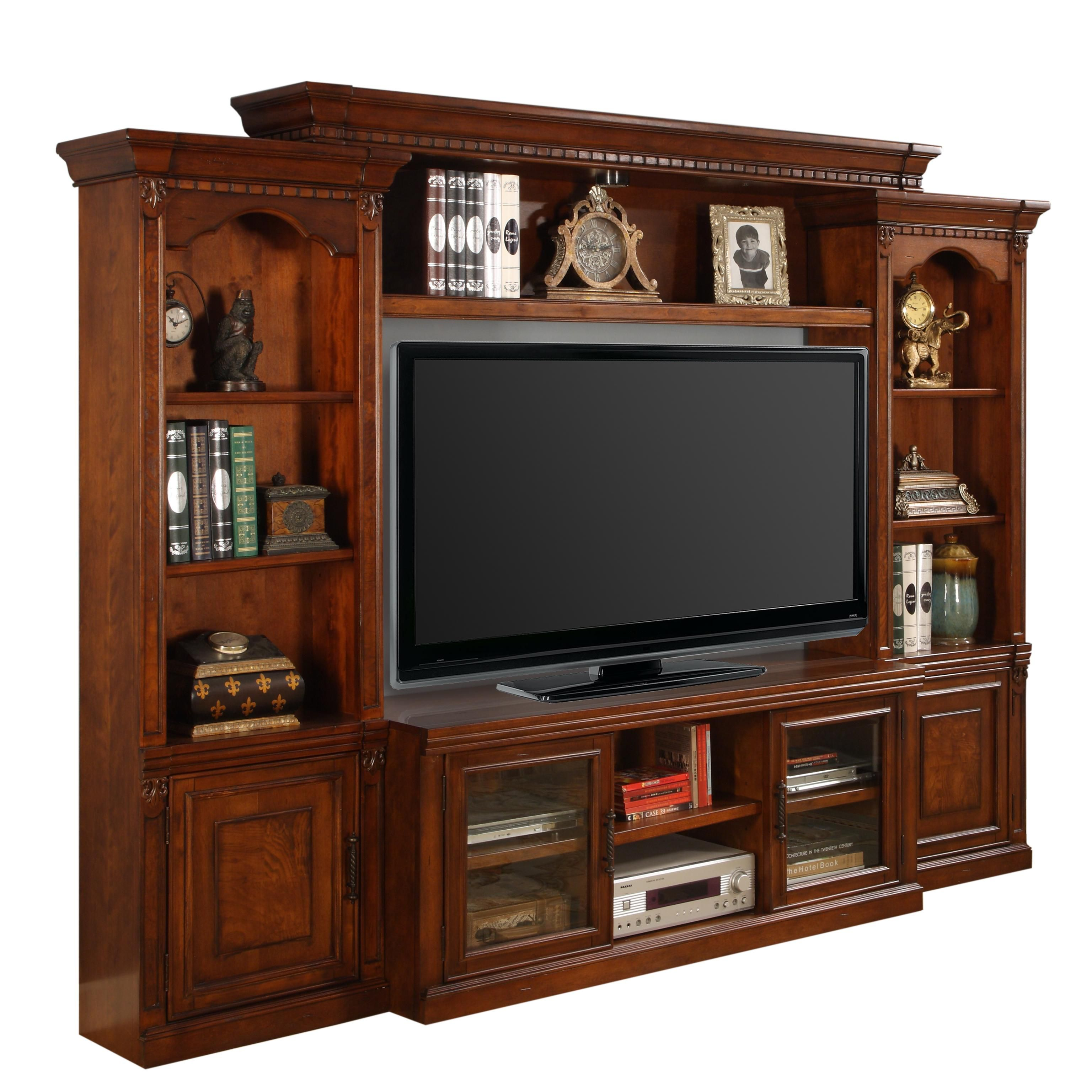 Living Room Furniture Northern Va: Premier Athens Premier Stationary Wall By Parker House At