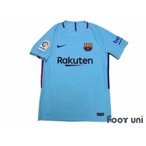fb691093a FC Barcelona 2017-2018 Away Authentic Shirt La Liga Patch Badge  fcbarcelona   fcbarcelona2017  fcbarcelona2018  fcbarcelonashirt  fcbarcelonajersey ...
