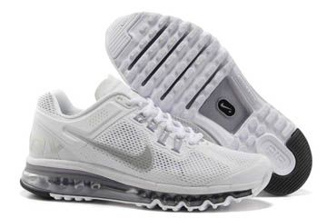 Running Shoes: Men's Nike Air Max+ 2013 Running Shoes Wolf