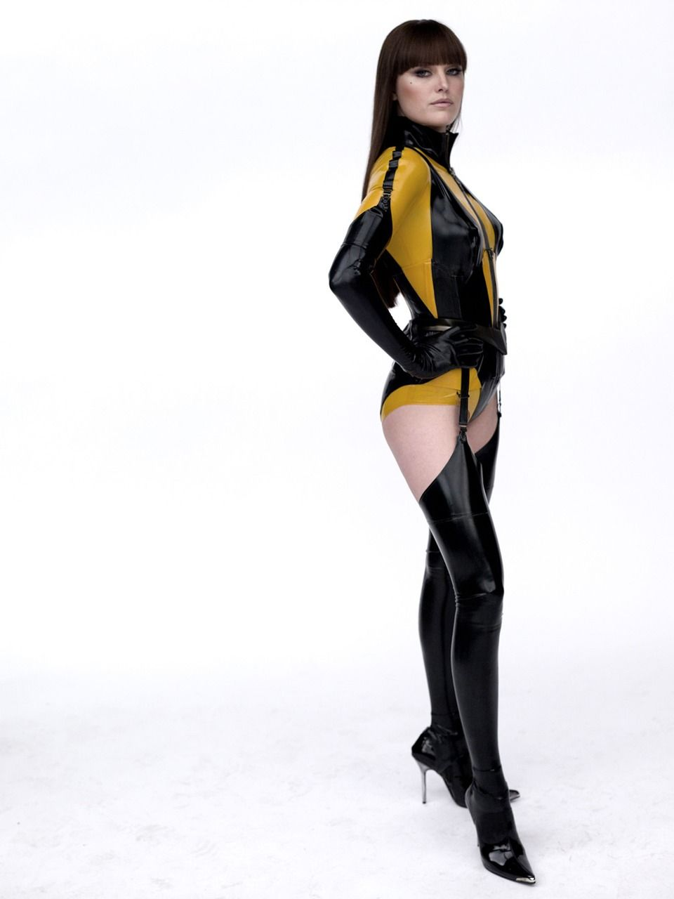 Malin Åkerman as Silk Spectre II u0026 my 2010 Halloween costume  sc 1 st  Pinterest : silk specter costume  - Germanpascual.Com