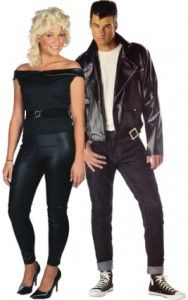 fun halloween costumes for couples danny and sandy from grease costumes here we go - Greece Halloween Costumes