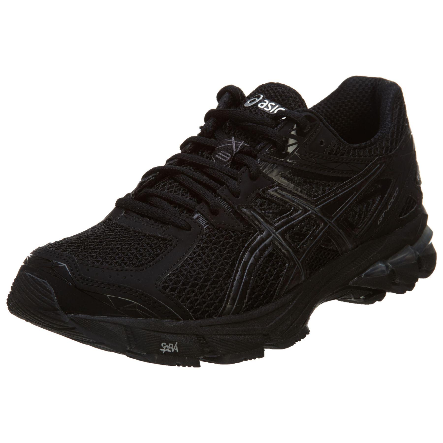 Asics Gt-1000 3 Womens Style: T4k8n-9099 Size: 8 M Us · Black Running  ShoesAsics ...