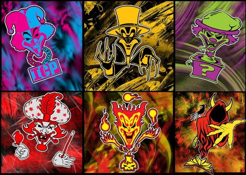 Icp Pickchirs This Is The Sweet Cartoon Clown Pink Collage