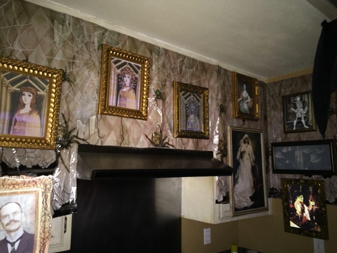 Haunted Mansion Kitchen Halloween 2015 Props