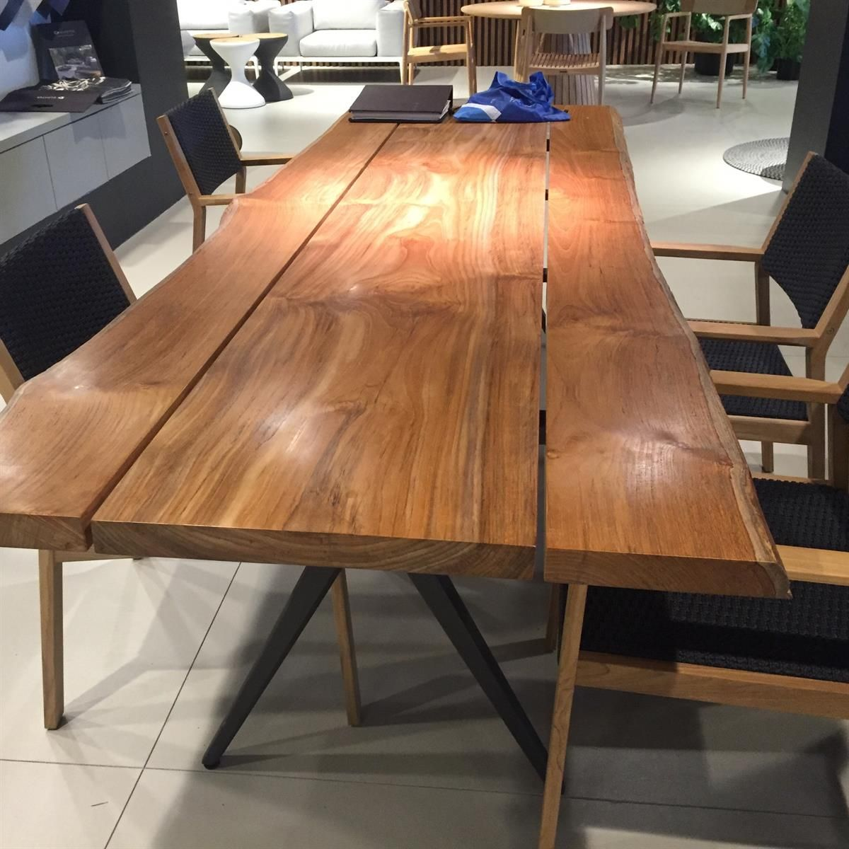 Delicieux Gloster Has Gone Over The Top With The NEW Split Raw Dining Table. Contact  Us For More Information