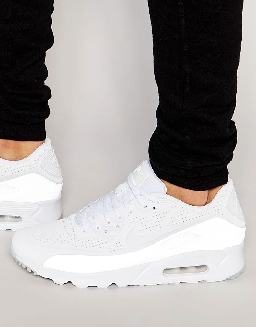 Nike Air Max 90 Ultra Moire Trainers 819477-111 at asos.com