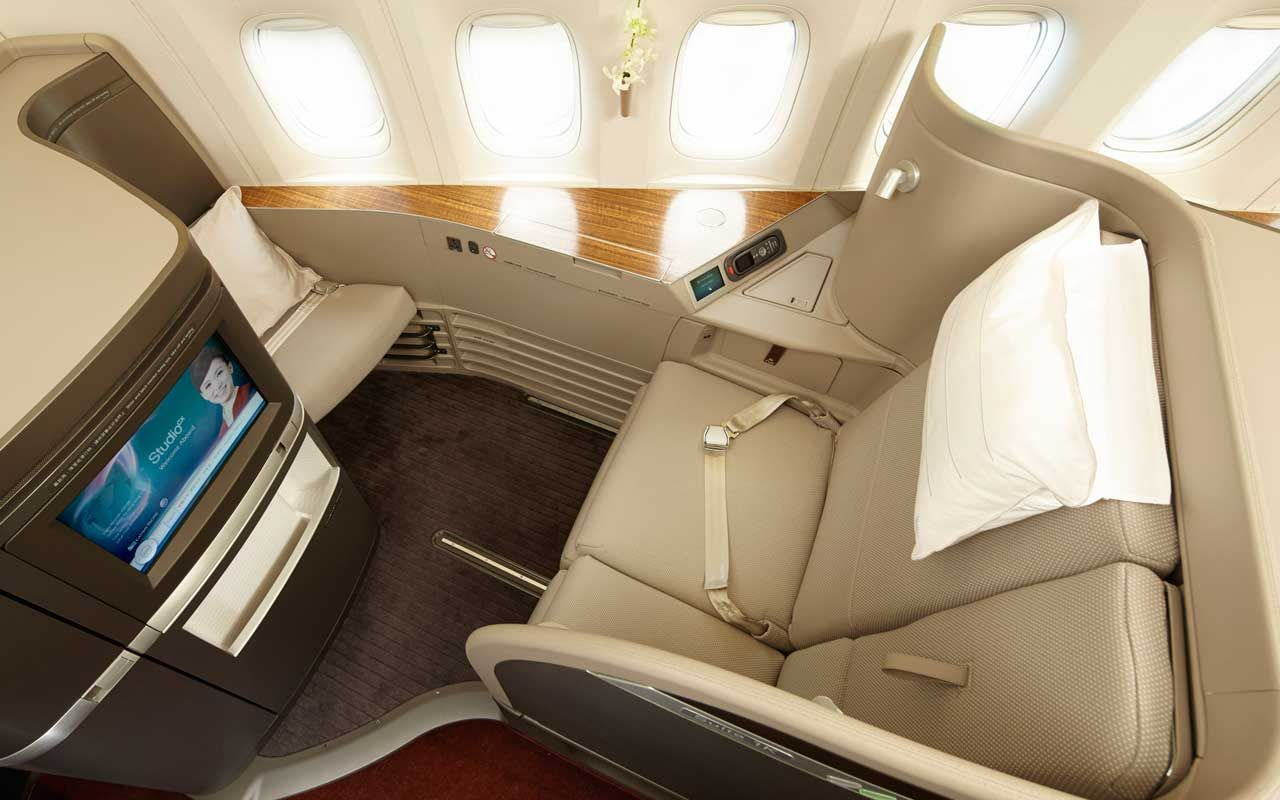 First Class Cabin That Foster Design For Chinesse Airline Company