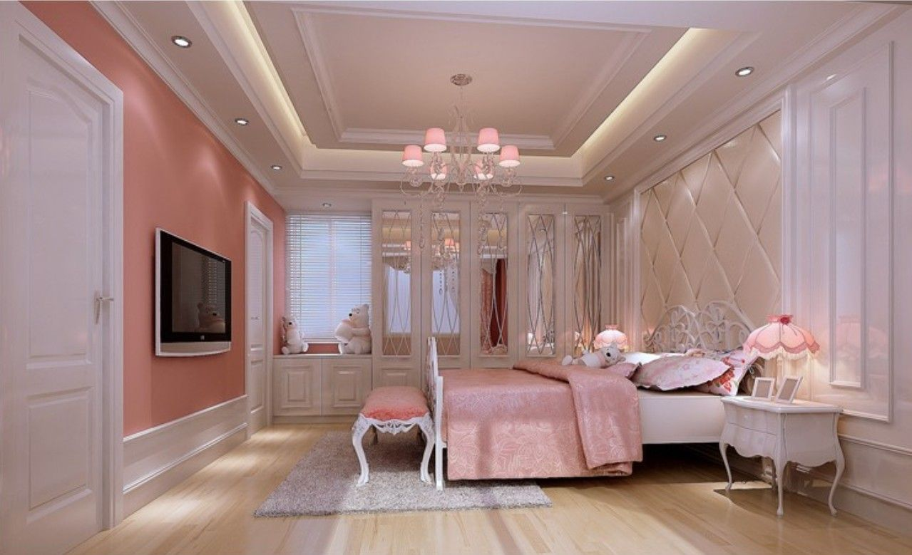 The Most Beautiful Pink Bedroom