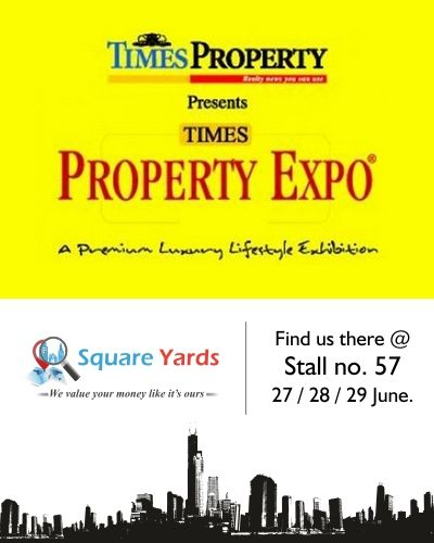 @squareyards International Property Consultant is mending its way to unfurl its essence in a premium luxury lifestyle exhibition, TIMES PROPERTY EXPO at India's forerunner hotel J W Mariott, Mumbai from 27 June – 29 June.