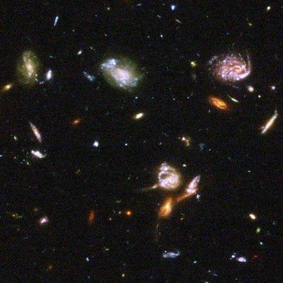 Astrofísica    y    Física: Encuentran la galaxia más lejana del Universo