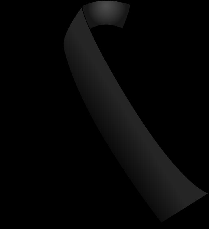 Clipart Black Ribbon Black Ribbon Black Awareness Awareness Ribbons Colors