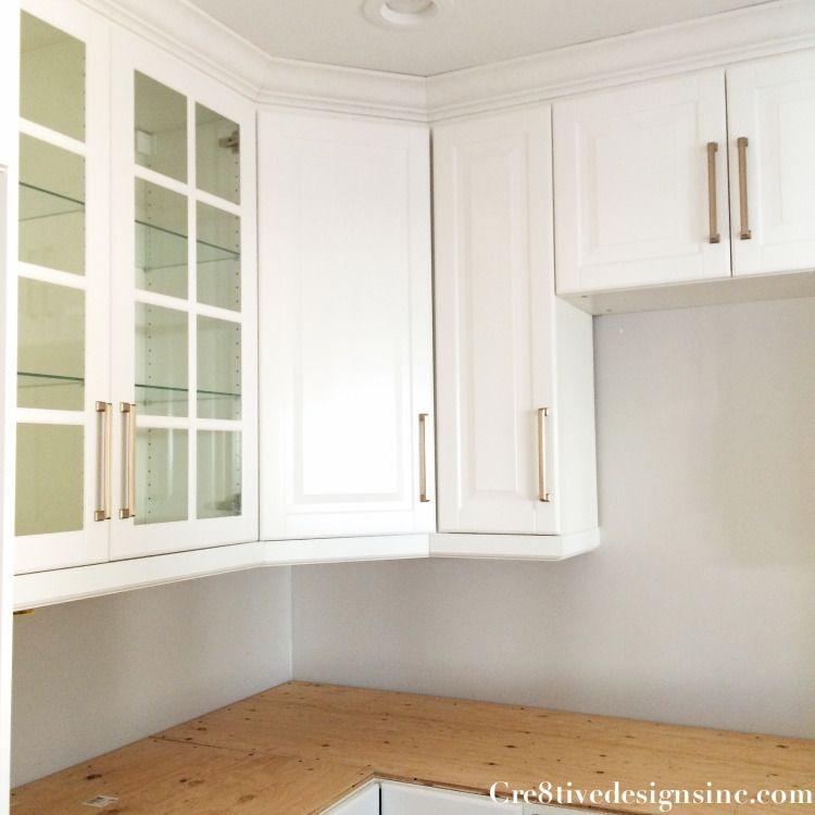 Kitchen Remodel Using Ikea Cabinets Cre8tive Designs Inc Kitchen Cabinet Crown Molding Kitchen Cabinet Molding Kitchen Cabinets Trim