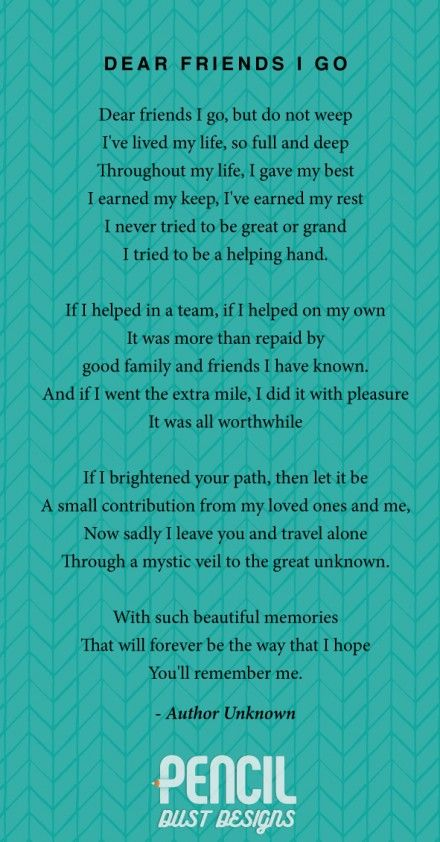 Pin On Grief Poem