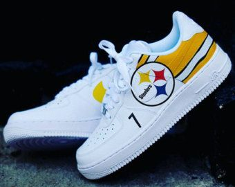 78deb916979f Custom Nike Adidas Samoa Pittsburgh Steelers shoe by ROBCREATIONS ...