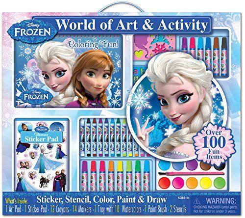 Disney Frozen Free Printables And Frozen Craft Sets Art Activities Disney Frozen Toys Coloring Books