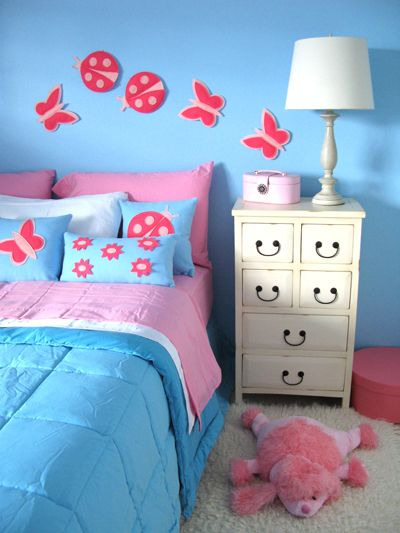 Girls Bedroom Ideas Blue And Pink