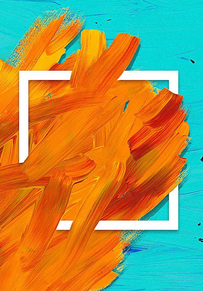 Color Background Texture H5 Art background, Orange