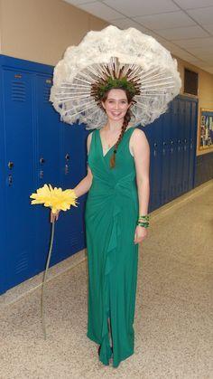 Pusteblume Kostüm selber machen   Halloween carnival ...